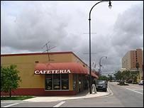 Cafetería en Hiahleah