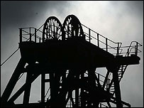 Ellington Colliery in Northumberland which closed in 2005