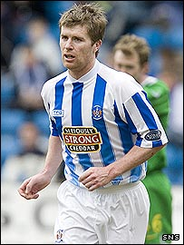 Lindsay Wilson played with Kilmarnock last season
