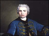 Un retrato de Farinelli.  Cortesía del Colegio Real de la Música