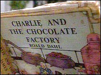 An early edition of Charlie and the Chocolate Factory