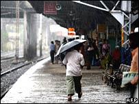 Santa Cruz station in Mumbai