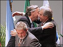 Cumbre del Mercosur en Venezuela