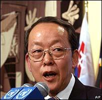 Wang Guangya, embajador chino ante la ONU