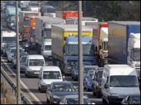 Traffic ar draffordd (generic)