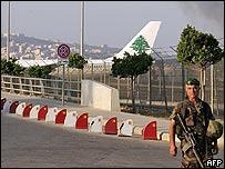 Aeropuerto de Beirut.