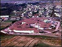 Western Isles Hospital aerial view