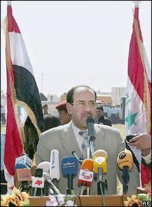 Iraq Prime Minister Nouri al-Maliki