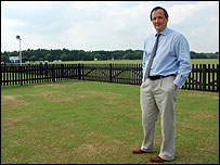 Guards Polo Club's chief executive, Charles Stisted