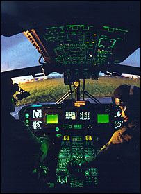 Agusta Westland helicopter interior