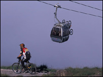 Gondola (picture from the Nevis Range website)