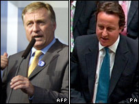Mirek Topolanek and David Cameron