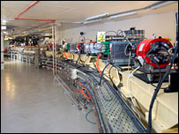 Booster synchrotron (Diamond Light Source Ltd)