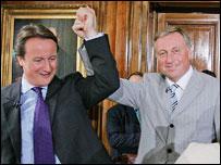 David Cameron and Mirek Topolanek