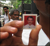 Friends with Joseph Noronha's passport picture