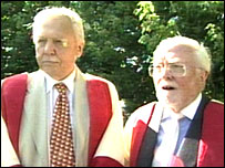 Sir David and Lord Attenborough