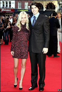 Kate Bosworth and Brandon Routh
