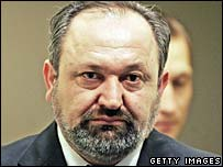 Vujadin Popovic, former Bosnian Serb military commander