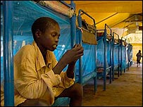 Former LRA child soldier [Pic: Anna Kari www.annakari.com]