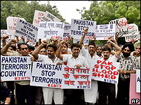 Anti-Pakistan demonstration in India