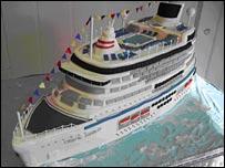 Cruise Ship Cake Detlandcom - Cruise ship cake