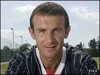 New Dunfermline signing Jim McIntyre