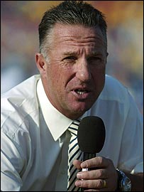 Former England cricket captain Ian Botham
