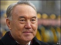 Kazakhstan's President Nazarbayev