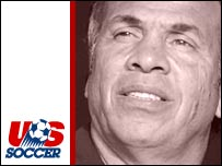 Bruce Arena coached the United States in Germany