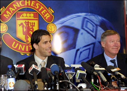 Ruud at a press conference