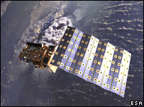 Metop in orbit (Esa)