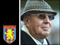 Villa chairman Doug Ellis