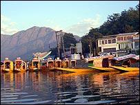 House boats in Srinagar