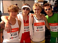 McFly also did the London Mile