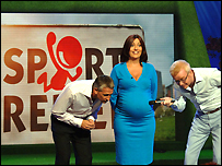 Gary Lineker, Davina McCall and Chris Evans were our hosts for Sport Relief