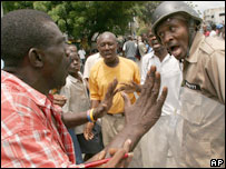 Confrontation in Port-au-Prince