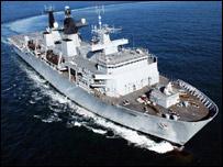 HMS Bulwark (MoD pic)