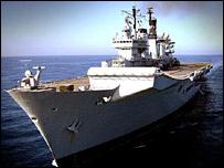 HMS Illustrious (MoD pic)