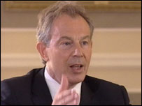 The Prime Minister, Tony Blair MP