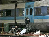 Rocket attack on train station in Haifa, Israel