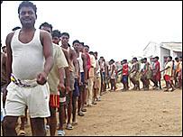 Civil militia members in Chhattisgarh
