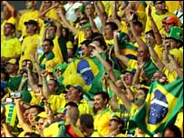 Brazil's national side is one of the best supported in the world