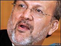 Iranian Foreign Minister Manouchehr Mottaki (AFP)