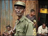 Former DR Congo militiaman