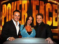Sarah Lang with Ant and Dec