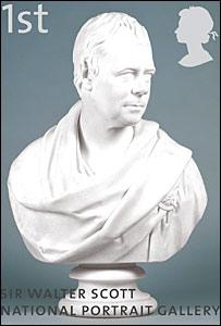 Walter Scott stamp