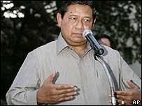 Indonesian President Susilo Bambang Yudhoyono
