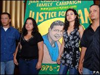 Cousins of Jean Charles de Menezes