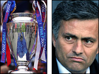 Jose Mourinho has his sights on the Champions League