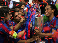 European Cup champions Barcelona